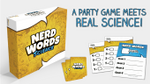Play it Safe or Bet Big on Science with Nerd Words! A New Game on Kickstarter! image