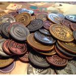 Viticulture Metal Lira Coins board game