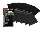 100 Premium Black Double Matte Deck Guard Sleeve Protectors board game