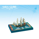 Sails of Glory: HMS Swan 1767 - British Ship-Sloop Ship Pack board game