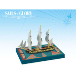Sails of Glory: HMS Concorde 1783 Ship Pack board game