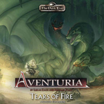 The Dark Eye: Aventuria - Tears of Fire Monster Expansion board game