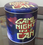 Game Night In A Can board game