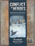 Conflict of Heroes: Awakening the Bear! Firefight Generator Expansion board game