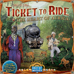 Ticket to Ride: Map Collection Volume 3 - The Heart of Africa board game