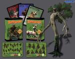 Battleground Fantasy Warfare: Elves of Ravenwood board game