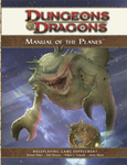 Dungeon & Dragons: Manual of the Planes, Roleplaying Game Supplement board game