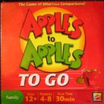 Apples to Apples to Go board game