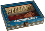 Classic Wooden Shut-the-Box Game - 2 Dice board game