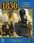 Mayfair Games 1830 Railways And Robber Barons - North East US board game