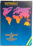 Supremacy; the Game of Superpowers board game
