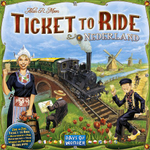 Ticket to Ride: Map Collection Volume 4 - Nederland board game