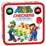 Super Mario Checkers/Tic Tac Toe Combo board game