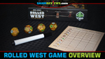 Rolled West Roll-n-Write Game Overview image