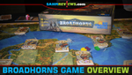 Broadhorns Board Game Overview image