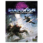Catalyst Game Labs Shadowrun: Sixth World Beginner Box board game