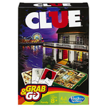 Clue Grab and Go Game (Travel Size) board game