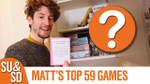 Matt's Top 59 Board Games (as of January 2020) (Shut Up & Sit Down) - YouTube image
