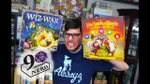90 Second Nerd Board Game Review: Wiz-War vs Five Seals of Magic - YouTube image
