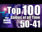 Top 100 Games of All Time 50-41 (Dice Tower) - YouTube image