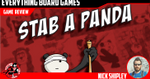 Stab a Panda Kickstarter Preview - EverythingBoardGames.com image