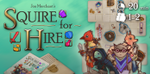 Squire for Hire Review - Letiman Games | A Pawn's Perspective image