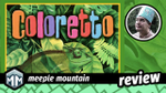 Coloretto Review - Count Your Chameleons image