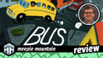 Bus Review - A Double Decker Serving of Worker Placement | Meeple Mountain image