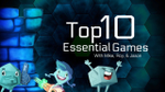 Top 10 Essential Games - with Mike, Roy, & Jason (Dice Tower) - YouTube image