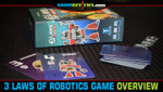 3 Laws of Robotics Hidden Role Card Game Overview image