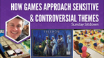 How Board Games Approach Sensitive & Controversial Themes (Jamey Stegmaier) - YouTube image