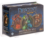 Descent Second Edition: Bonds of the Wild Hero and Monster Collection board game