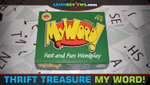 Thrift Treasure: My Word! Card Game image