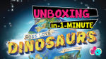 Gods Love Dinosaurs   Unboxing in a minute   English - Español image