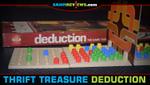 Thrift Treasure: Deduction Board Game image