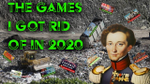 The games i got rid of in 2020 image