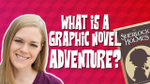 Solve A Mystery in this Sherlock Graphic Novel Adventure Book image