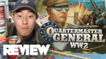 Quartermaster General WW2 Review- Ultra Digestible Axis and Allies - YouTube image