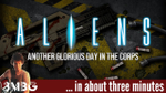 Aliens another glorious day in the corp in about 3 minutes - YouTube image