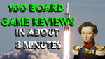 100 board games reviewed in about 3 minutes - YouTube image