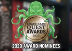 2020 Board Game Award Nominees | Board Game Quest image