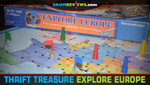 Thrift Treasure: Explore Europe Board Game image