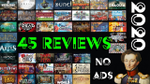 45 games reviewed (All 2020 reviews with no breaks) - YouTube image