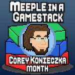 Meeple in a Gamestack Podcast 35: Discover: Lands Unknown - Corey Konieczka Month Pt. 2 image