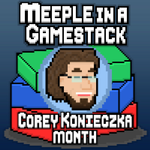 Meeple in a Gamestack Podcast 38: Corey Konieczka Month Conclusion image