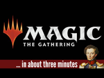 Magic the Gathering in about 3 minutes - YouTube image
