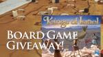 Board Game Giveaway! Kings of Israel. image