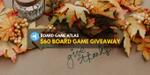 Board Game Atlas Giveaway (Winner on November 26, 2019) image