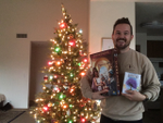 Here's Neal with his early Christmas presents! image