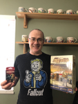 Daryl finally got his giveaway wins! image